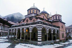 Rila Monastery mountains Bulgaria