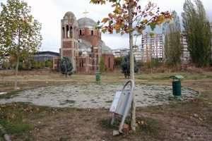 unfinished serbian orthodox church pristina