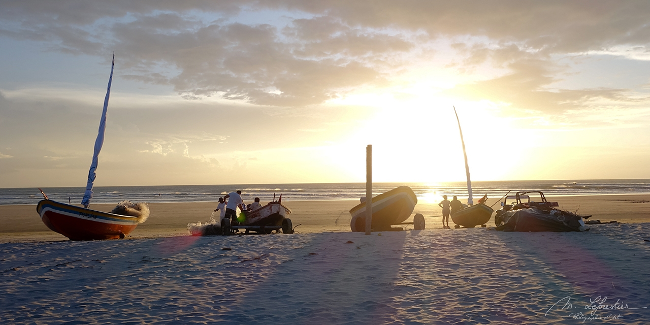 Brazil: watch the sunset in Jericoacoara