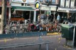 a litter bin in the center of Amsterdam the Netherlands