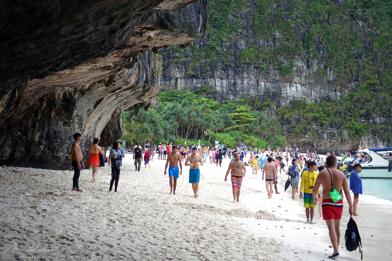 Thailand: the sad reality of over tourism at Maya Bay in Krabi
