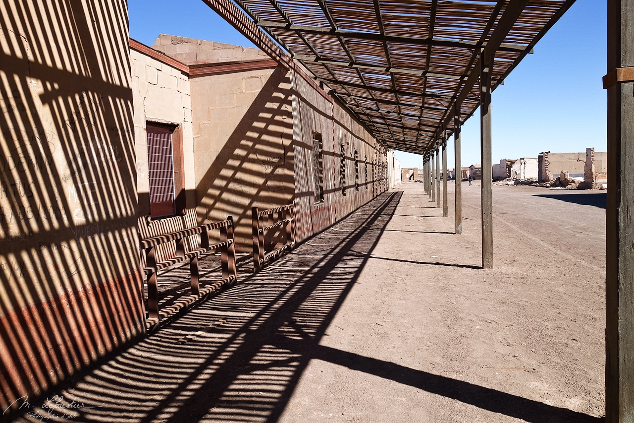 Chile: visit the ghost town of Chacabuco