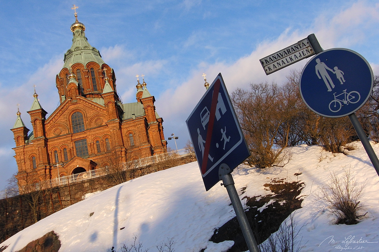 Finland: don't miss the largest orthodox church in western Europe in Helsinki