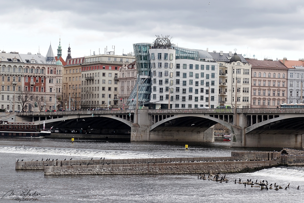 Czech Republic: see the astonishing dancing house in Prague
