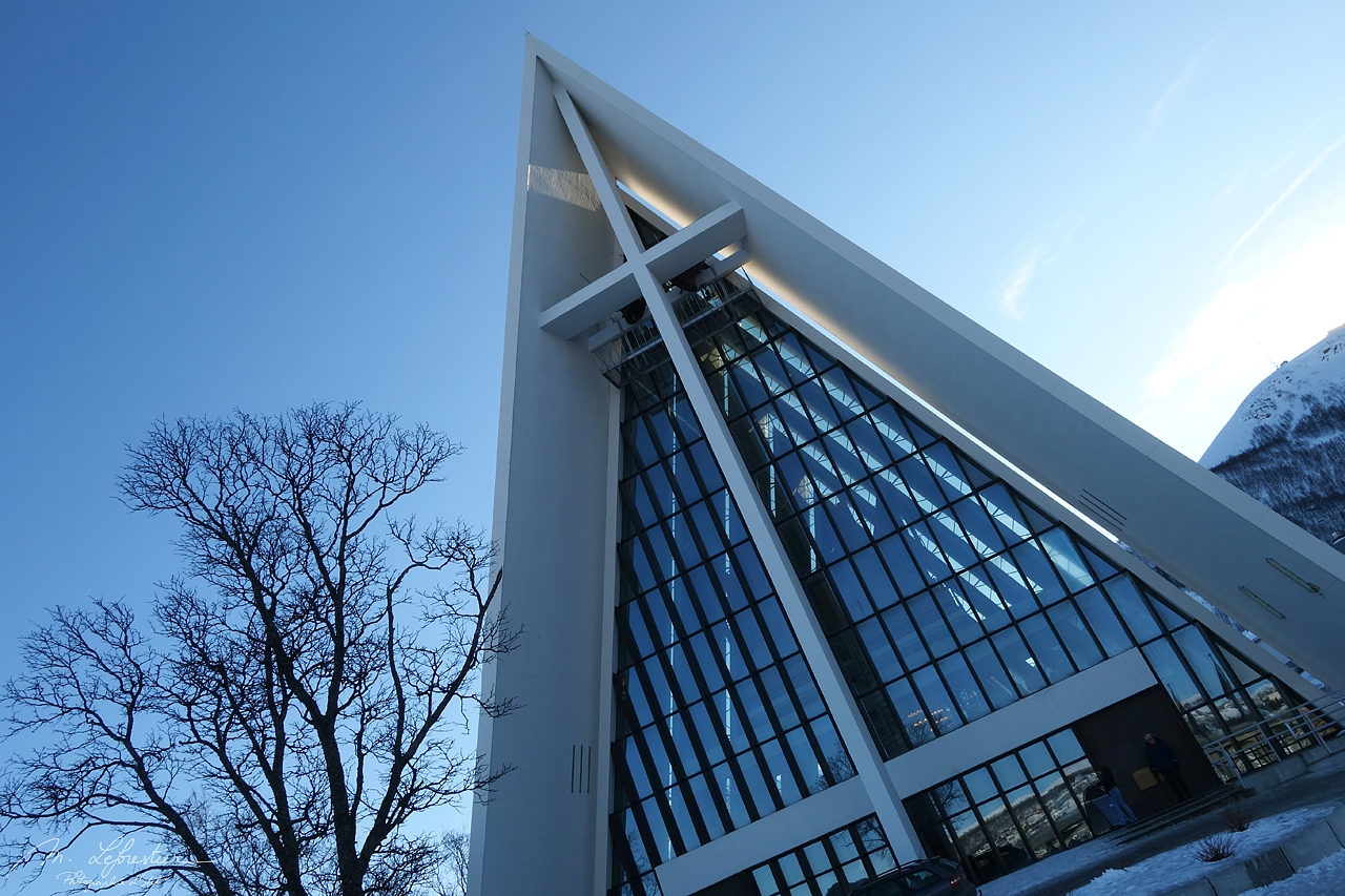 Norway: check out the beautiful Arctic Cathedral in Tromso